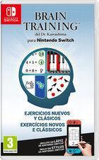 Portada oficial de de Brain Training del Dr. Kawashima para Nintendo Switch para Switch