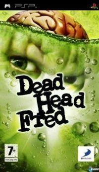 Portada oficial de Dead Head Fred para PSP
