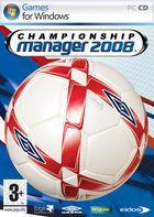 Portada oficial de de Championship Manager 2008 para PC