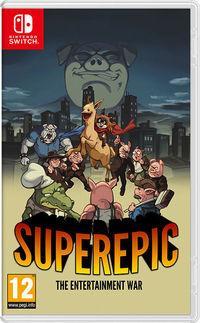 Portada oficial de SuperEpic para Switch