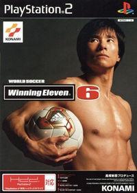 Portada oficial de World Soccer Winning Eleven 6 para PS2