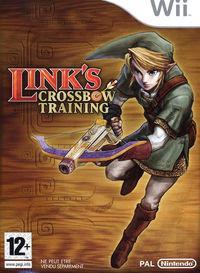 Portada oficial de Link's Crossbow Training para Wii