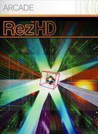 Portada oficial de de Rez HD XBLA para Xbox 360