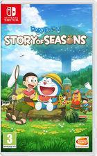 Portada oficial de de Doraemon Story of Seasons para Switch