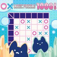 Portada oficial de 〇× LOGIC PUZZLE 1000 ! para Switch
