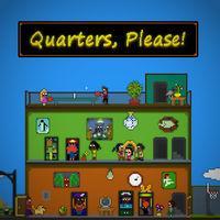 Portada oficial de Quarters, Please! eShop para Nintendo 3DS