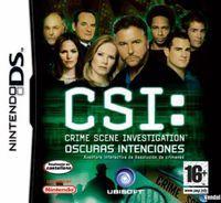 Portada oficial de CSI Oscuras Intenciones para NDS