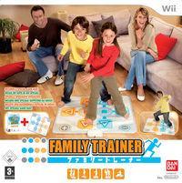 Portada oficial de Family Trainer para Wii