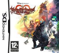 Portada oficial de Kingdom Hearts 358/2 Days para NDS