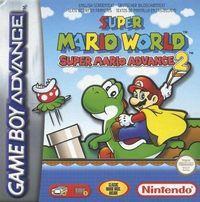 Portada oficial de Super Mario Advance 2 : Super Mario World para Game Boy Advance