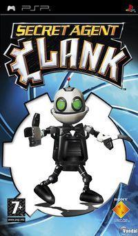 Portada oficial de Secret Agent Clank para PSP
