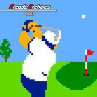 Portada oficial de Arcade Archives Golf para Switch