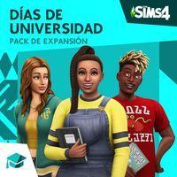 Portada oficial de Los Sims 4: Días de Universidad para PS4