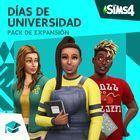 Portada oficial de de Los Sims 4: Días de Universidad para PS4