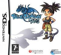Portada oficial de Blue Dragon Plus para NDS