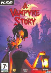 Portada oficial de A Vampyre Story para PC