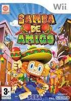 Portada oficial de de Samba de Amigo para Wii