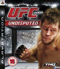 Portada oficial de UFC 2009 Undisputed para PS3