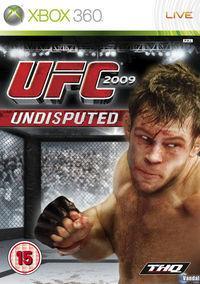 Portada oficial de UFC 2009 Undisputed para Xbox 360