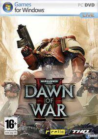 Portada oficial de Warhammer 40.000: Dawn of War II para PC