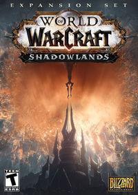 Portada oficial de World of Warcraft: Shadowlands para PC
