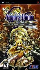 Portada oficial de de Yggdra Union para PSP