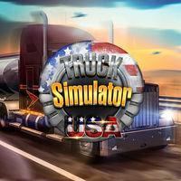 Portada oficial de Truck Simulator USA para Switch