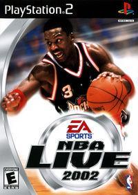 Portada oficial de NBA Live 2002 para PS2