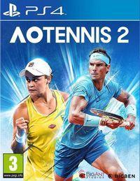 Portada oficial de AO Tennis 2 para PS4