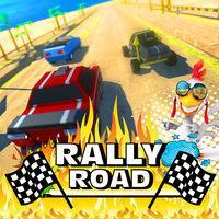 Portada oficial de Rally Road para Switch