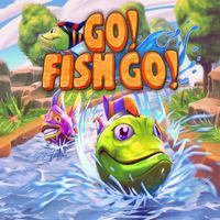 Portada oficial de Go! Fish Go! para Switch