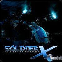 Portada oficial de Söldner-X: Himmelsstürmer PSN para PS3