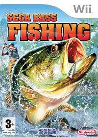 Portada oficial de Sega Bass Fishing para Wii