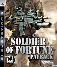 Portada oficial de Soldier of Fortune: Venganza para PS3