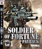 Portada oficial de de Soldier of Fortune: Venganza para PS3
