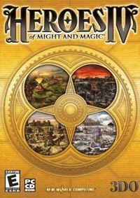 Portada oficial de Heroes of Might & Magic IV para PC