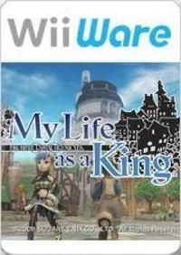 Portada oficial de Final Fantasy Crystal Chronicles: My Life as a King para Wii