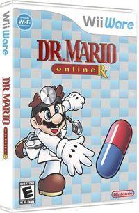 Portada oficial de Dr. Mario y Bactericida para Wii
