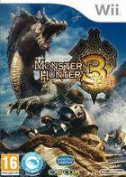 Portada oficial de de Monster Hunter Tri para Wii