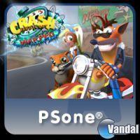 Portada oficial de Crash Bandicoot 3 PSN para PS3