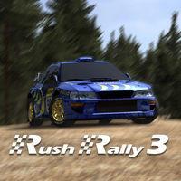 Portada oficial de Rush Rally 3 para Switch
