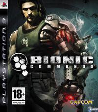 Portada oficial de Bionic Commando para PS3