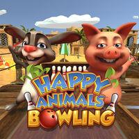 Portada oficial de Happy Animals Bowling para Switch