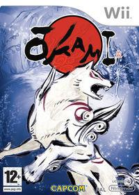 Portada oficial de Okami para Wii