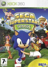 Portada oficial de Sega Superstars Tennis para Xbox 360