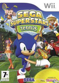 Portada oficial de Sega Superstars Tennis para Wii