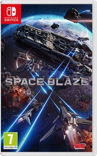 Portada oficial de Space Blaze para Switch