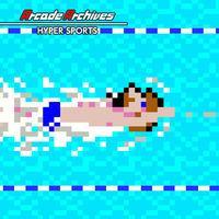 Portada oficial de Arcade Archives Hyper Sports para Switch