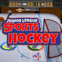 Portada oficial de Junior League Sports - Ice Hockey para Switch