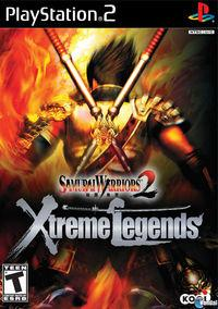 Portada oficial de Samurai Warriors 2 Xtreme Legends para PS2